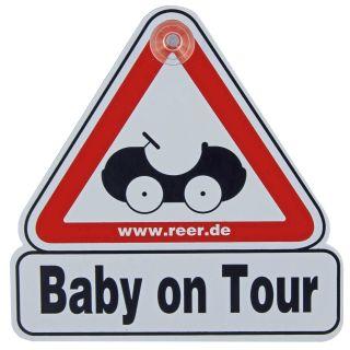 "Reer Autoschild ""Baby on Tour"""