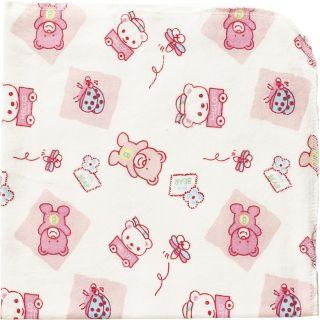 Playshoes Molton-Tuch 75x75 cm 2er Pack pink Größe pink