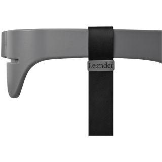 Leander Hochstuhl Sicherheitsbügel mit Ledergurt für Hochstuhl grau