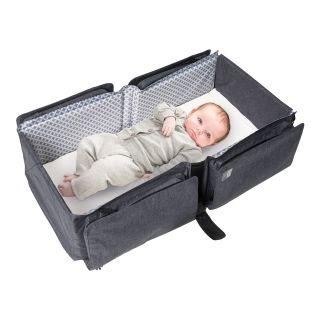 Wickeltasche NEW Delta Baby Travel Ultralight Grey Melange