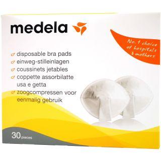 Medela Einweg-Stilleinlagen, Karton mit 30 Stück