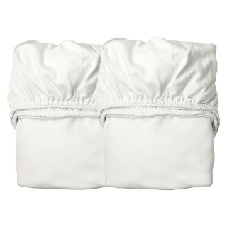 Leander Wiege 2er-Pack Bettlaken Snow
