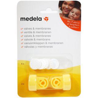 Medela Ventilkopf und Membrane Set