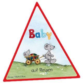 "Reer Aufkleber ""Baby auf Reisen"" Bärbel Haas Design"