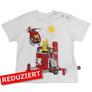 Lego Wear T-Shirt Trevor 506 100% Baumwolle 92 weiß