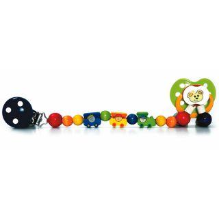 Hess-Spielzeug Schnullerkette Bimmelbahn